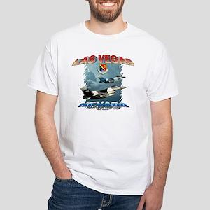 Las Vegas, Nellis AFB White T-Shirt