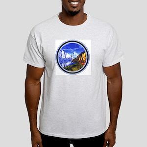 3D Landscape Light T-Shirt