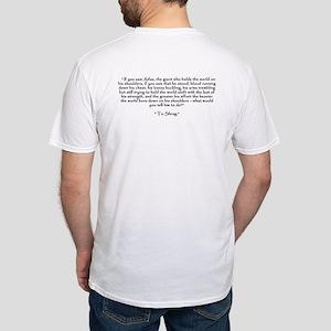 Who is John Galt? Atlas Shrugged Fitted T-Shirt