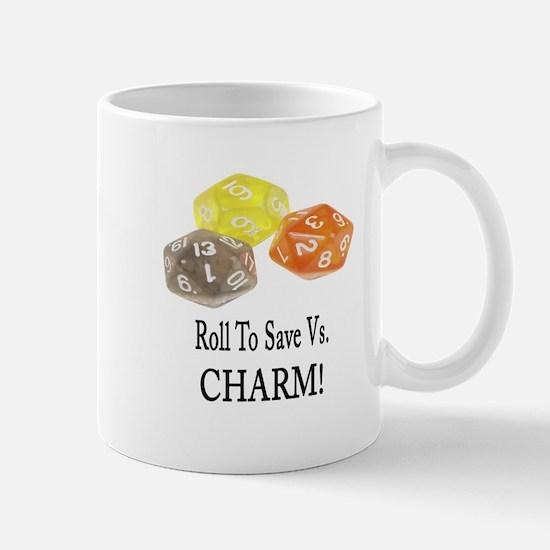 Save Vs CHARM Mug