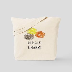 Save Vs CHARM Tote Bag