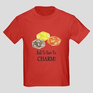 Save Vs CHARM Kids Dark T-Shirt