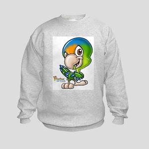 Baby Parrot Kids Sweatshirt