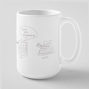 Argumentative Pot Kettle Large Mug