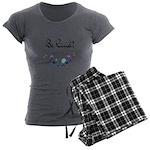 Be Kind! Women's Charcoal Pajamas