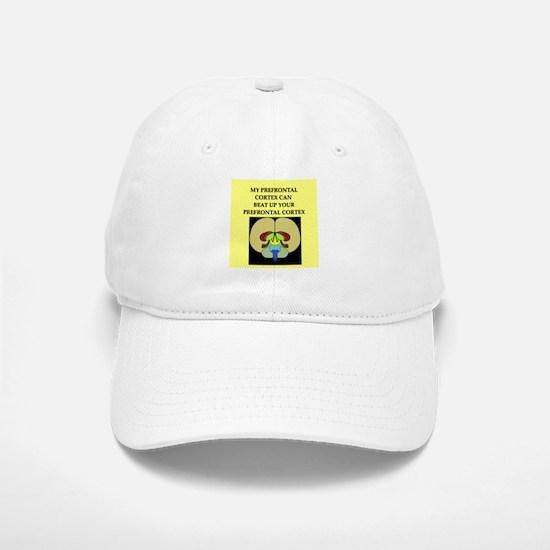 funny neuroscience joke Baseball Baseball Cap