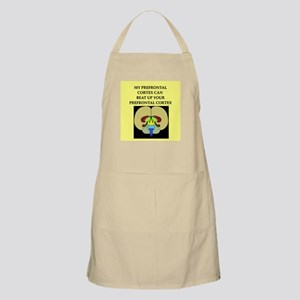 funny neuroscience joke BBQ Apron
