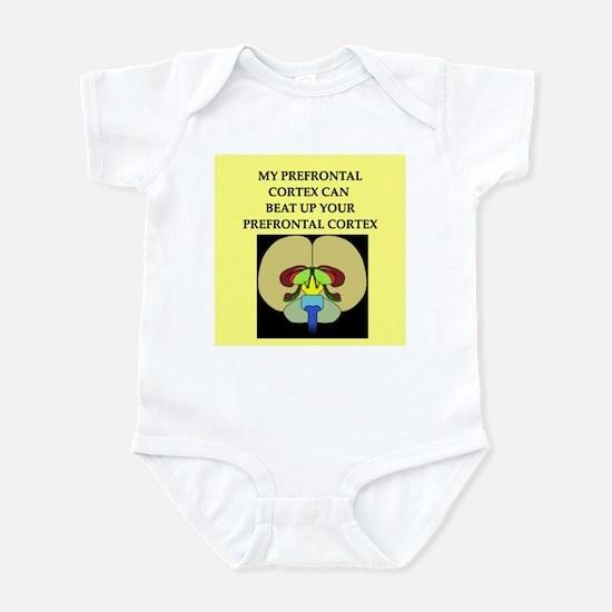 funny neuroscience joke Infant Bodysuit