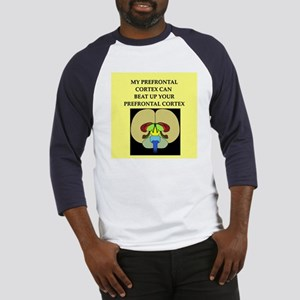 funny neuroscience joke Baseball Jersey