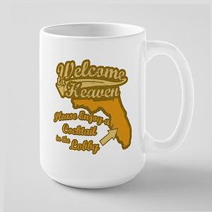 Retire To Florida Large Mug