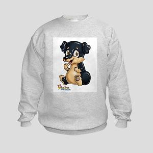 Puppy Friend Kids Sweatshirt