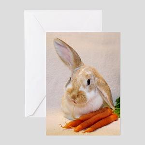 Bunny Ears Birthday Greeting Card