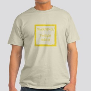 WARNING: Twilight Addict Light T-Shirt