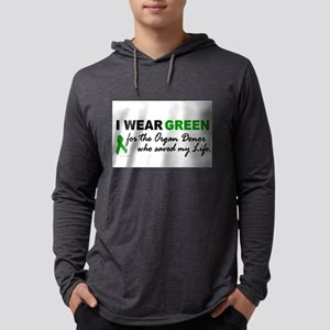 I Wear Green (Saved My Life) Long Sleeve T-Shirt