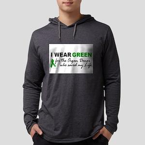 I Wear Green (Saved My Life) Long Sleeve T-Shirt