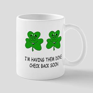Boobies shamrocks Mug