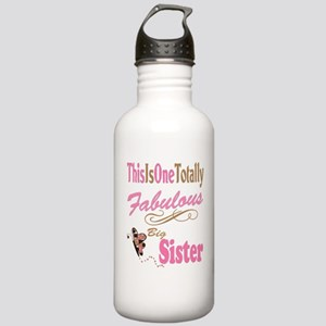 Fabulous Big Sister Stainless Water Bottle 1.0L