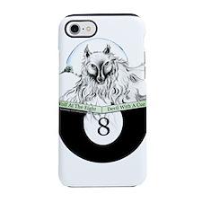 8 Ball Billiard Wolf iPhone 8/7 Tough Case