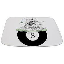 8 Ball Billiard Wolf Bathmat