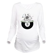 8 Ball Billiard Wolf T-Shirt
