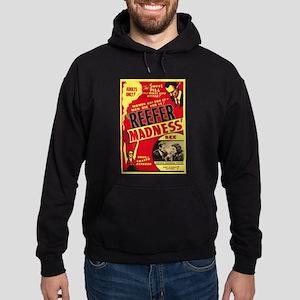 Vintage Reefer Madness Hoodie (dark)