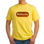 Family Woodworking Yellow T-Shirt