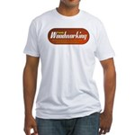 Family Woodworking Fitted T-Shirt
