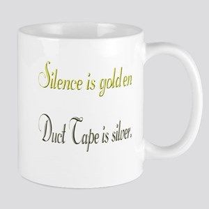 Silence and Duct Tape Mug