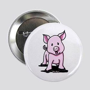 """Chatty Pig 2.25"""" Button"""