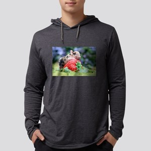 Pig and Strawberry Long Sleeve T-Shirt