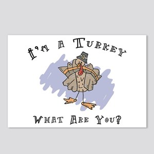 I'm A Turkey Postcards (Package of 8)