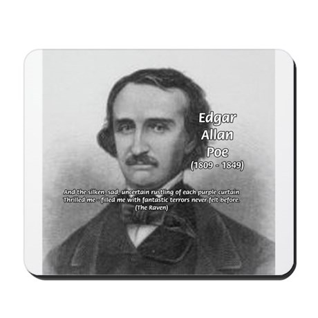Gothic Edgar Allan Poe Mousepad