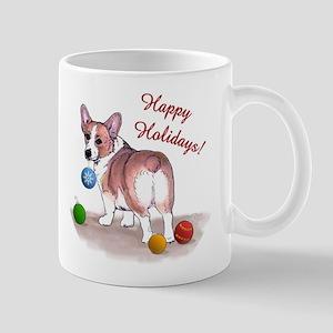 Pembroke Welsh Corgi Holiday Mug