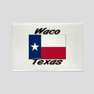 Waco Texas Rectangle Magnet