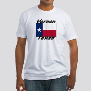 Vernon Texas Fitted T-Shirt