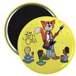 The Jam Cats Magnet