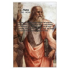 Plato: Philosophy / Equality Posters
