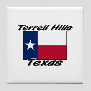 Terrell Hills Texas Tile Coaster