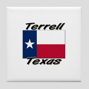 Terrell Texas Tile Coaster