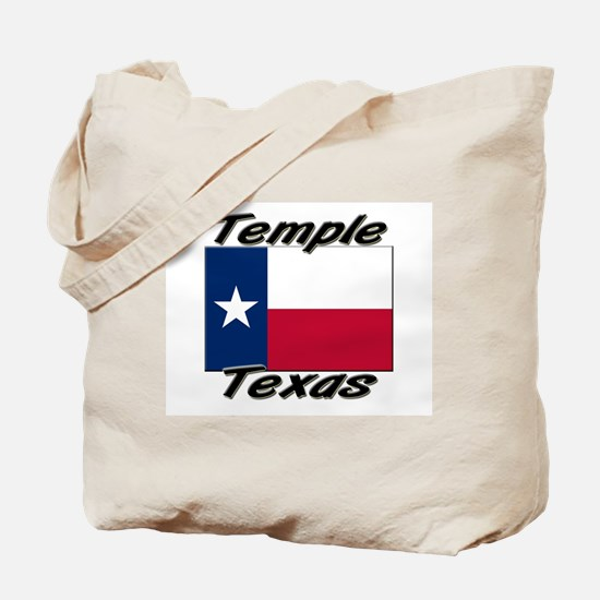 Temple Texas Tote Bag