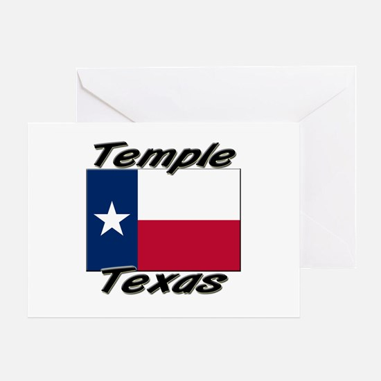 Temple Texas Greeting Card