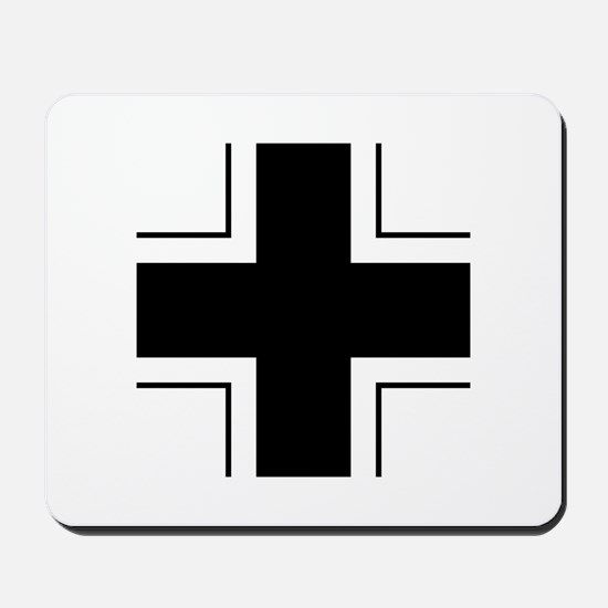 Iron Cross (Wehrmacht) Mousepad