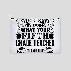 5th Grade Teacher Makeup Bag