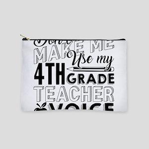 4th Grade Teacher Makeup Bag
