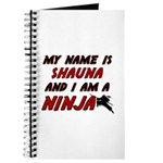 my name is shauna and i am a ninja Journal