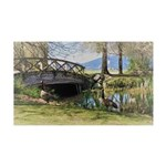 Canada Geese in the Park Decal Wall Sticker