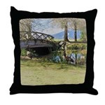 Canada Geese in the Park Throw Pillow