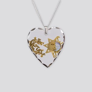 SunMoonSparkle053109 Necklace Heart Charm