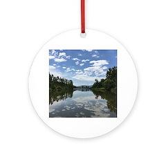 Sumas River Round Ornament