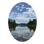 Sumas River Oval Ornament